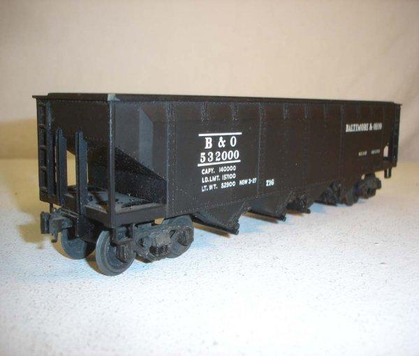 17: ABT: Lionel #716 Black B&O Scale Hopper