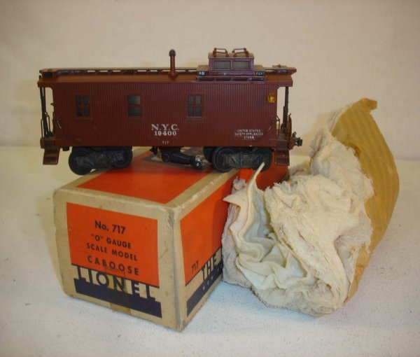 19: ABT: Great Lionel #717 Scale NYC Caboose/OB+