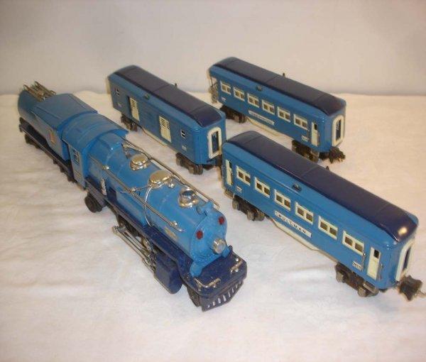 23: ABT: Lionel #263 Blue Comet 5Pc Passenger Train