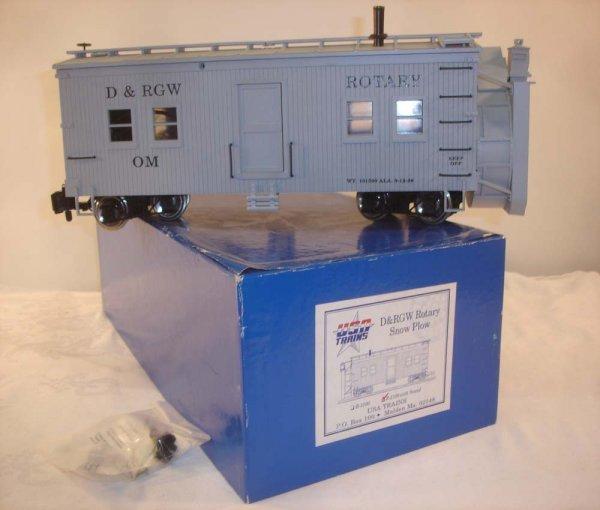 287: ABT: USA Trains #R-2100 D&RG Snow Plow/Sounds