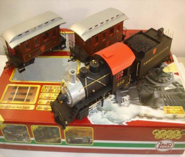 290: ABT: LGB #72323 Penn Steam Passenger Set/OB