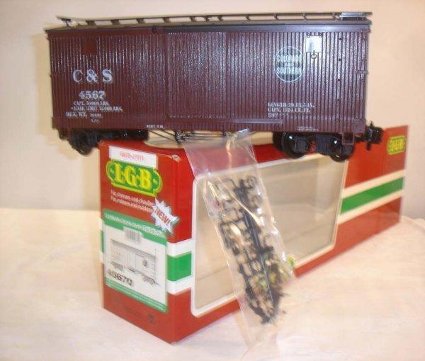 293: ABT: LGB #45670 Colorado & Southern Box Car/OB