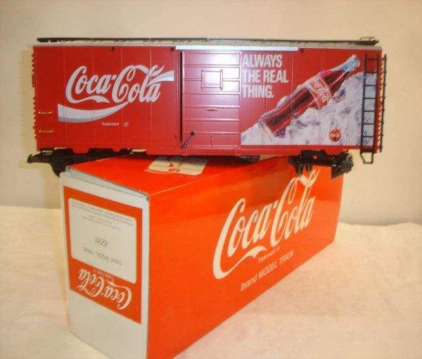 297: ABT: Special LGB #42911 Coca-Cola Reefer/OB
