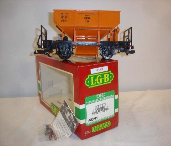 303: ABT: Nice LGB #4041 OEG Ore Dump Car/OB