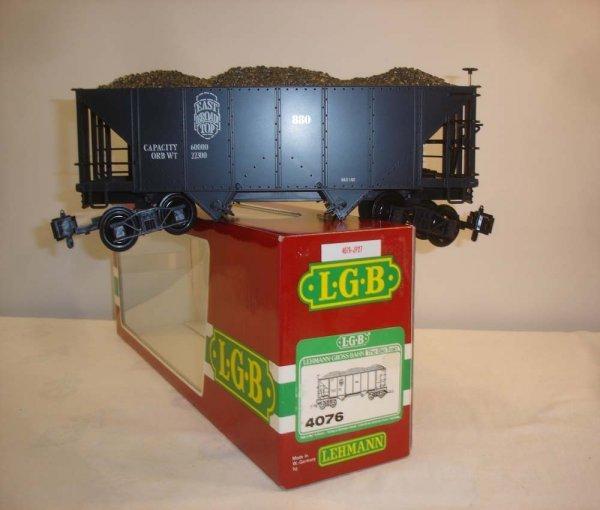 304: ABT: LGB #4076 East Broad Top Coal Hopper/OB