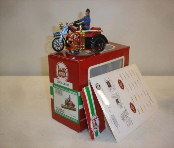305: ABT: Special LGB #20030 Motorcycle w/Side Car/OB