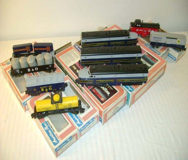 20: ABT: Mint Lionel/AF #8153 B&O Freight Set/OBS