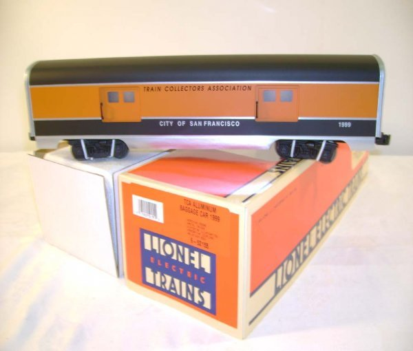 309: ABT: Mint Lionel #52155 City of SF TCA 99 Baggage/