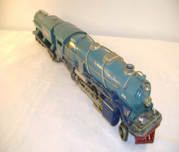 610: ABT: Lionel #400E Nickel/Ptd Bands Blue Comet