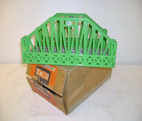 611: ABT: Lionel #280 Standard Gauge Bridge/Nice Box