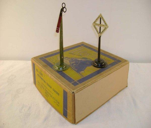 616: ABT: Great Ives #1593 Mechanical Train Set Box