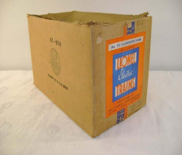 618: ABT: Lionel #912 Mansion Landscape Plot  Box