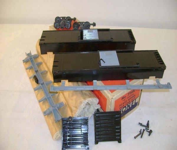 620: ABT: Lionel #714K Scale Box Car Kit/Brick OB+