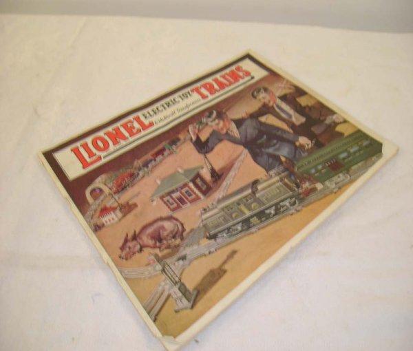623: ABT: Nice Lionel 1924 Color Consumer Catalog