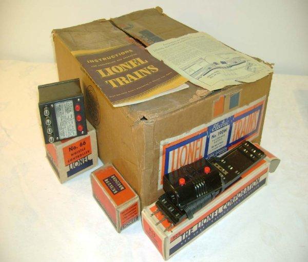 625: ABT: Lionel #190W Blue Comet Pass Set Box