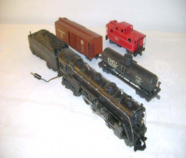 626: ABT: Lionel OO #004 2 Rail Five Piece Freight Set