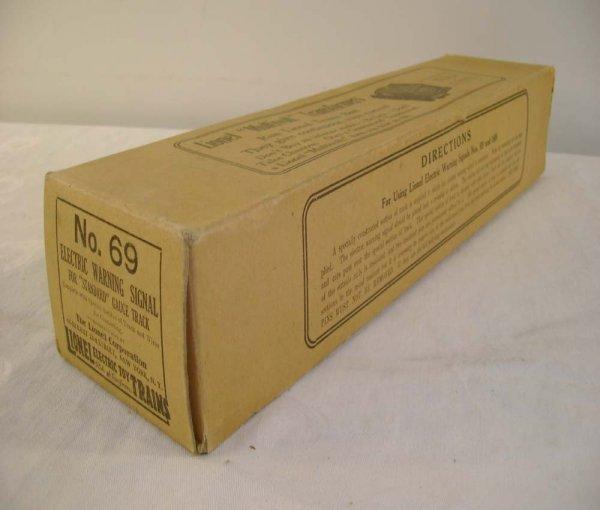 627: ABT: Brick Lionel #69 Warning Signal Original Box