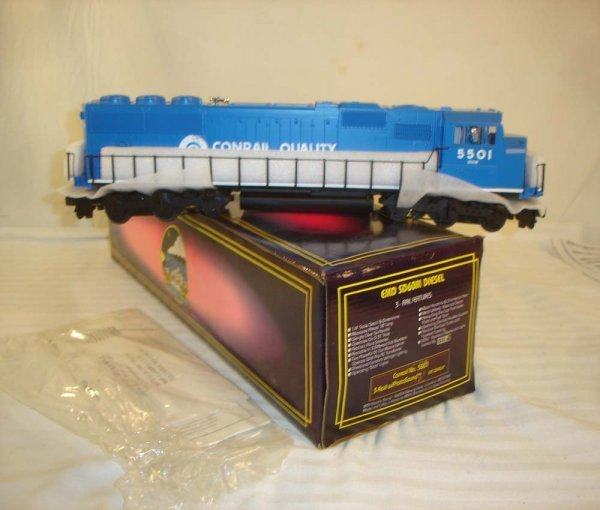 4: ABT: MTH #MT-2043LP (5501) Conrail SD60M/OB