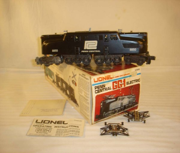 5: ABT: Lionel #8550 Penn Central GG-1 Electric/OB