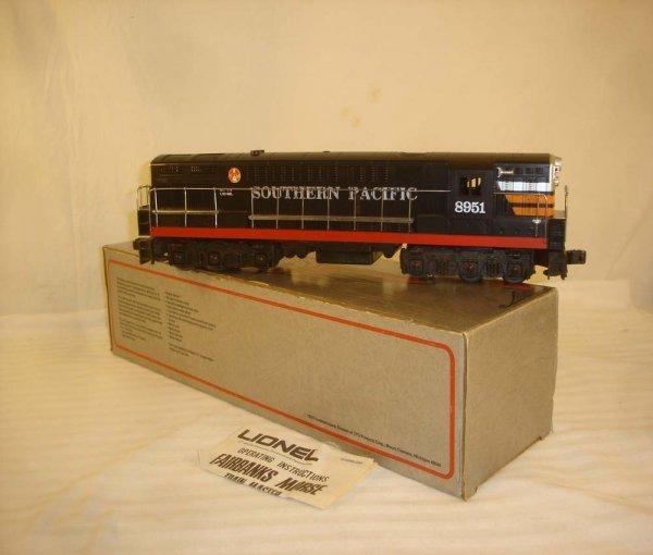 6: ABT: Lionel #8951 Southern Pacific FM Diesel/OB