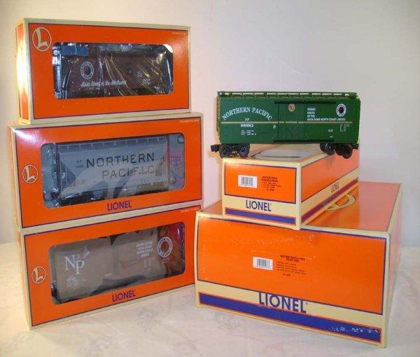 7: ABT: Mint Lionel #11977 NP 4 Pack Std O Fts/OB