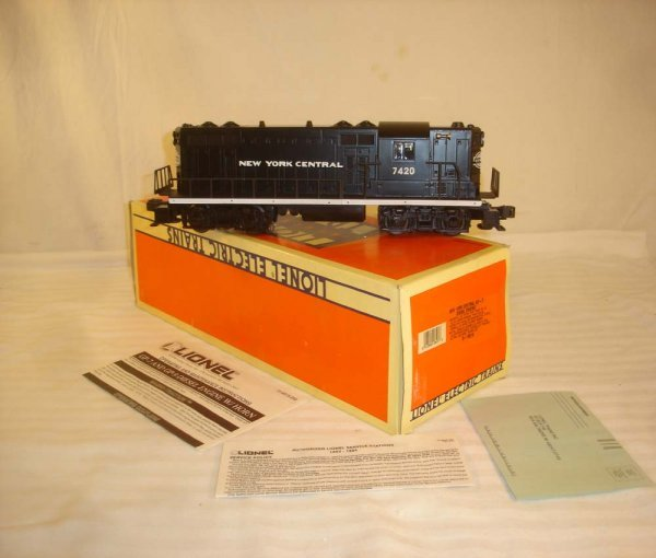 8: ABT: Mint Lionel #18518 NYC GP-7 Diesel/Brick OB