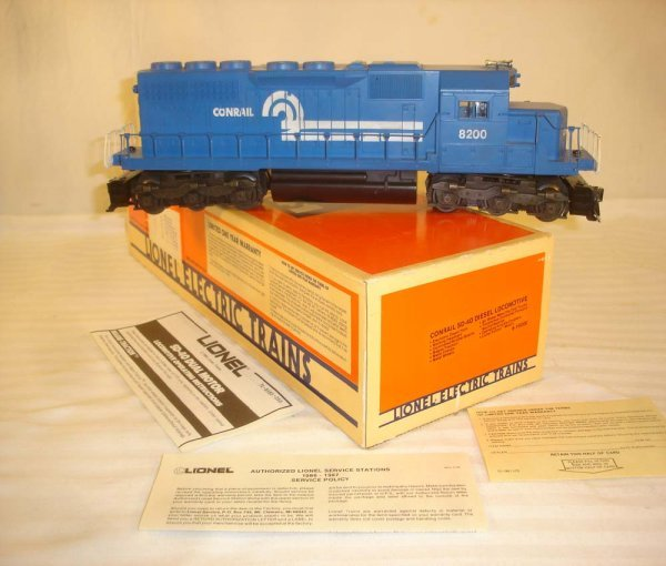 9: ABT: Lionel #18200 Conrail SD-40 Diesel/Brick OB