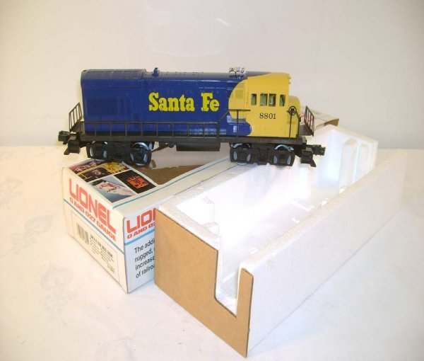 12: ABT: Lionel #18801 Santa Fe U36/Great OB