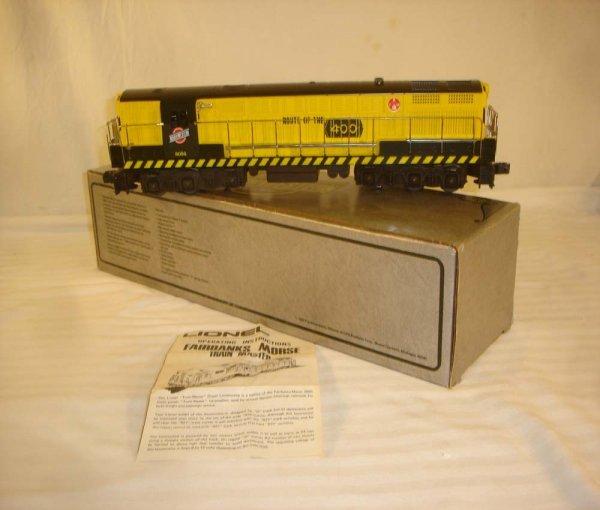 13: ABT: Lionel #8056 C&NW FM Diesel/Brick OB