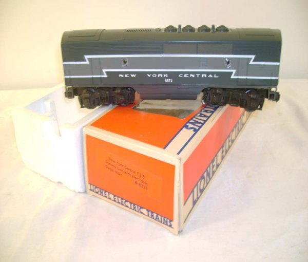 14: ABT: Mint Lionel #8371 NYC F-3 B Unit w./Horn/OB