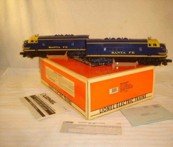 18: ABT: Mint Lionel #18117 B/Y SFe F-3 AA Diesels/OB