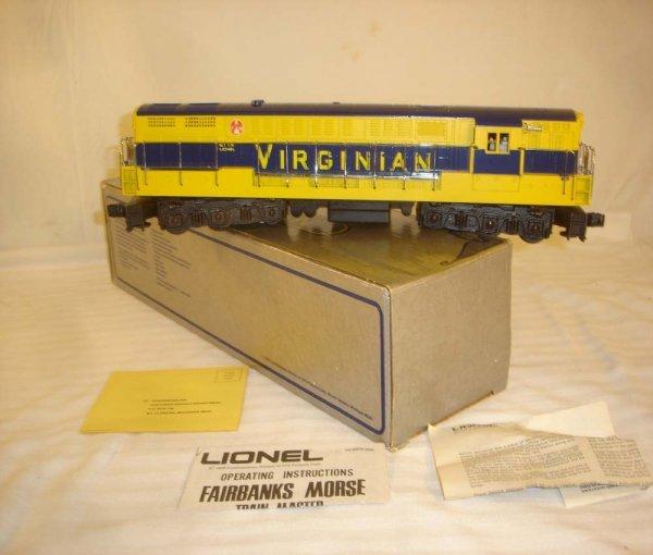 24: ABT: Lionel #8950 Virginian FM Diesel/Brick OB