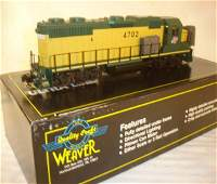 72: ABT: Weaver #4702 C&NW GP-38-2 Diesel/OB
