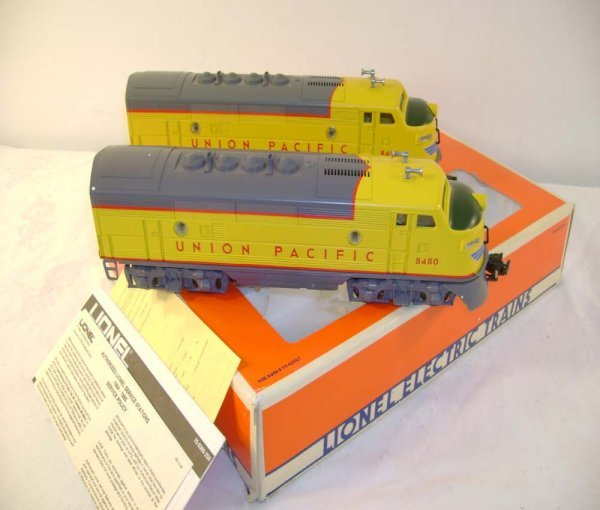 117: ABT: Lionel #8480 Union Pacific F-3 AA Diesels/OB