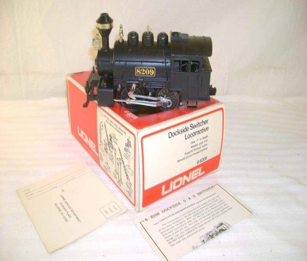 228: ABT: Lionel #8209 Dockside Switcher/Brick OB+