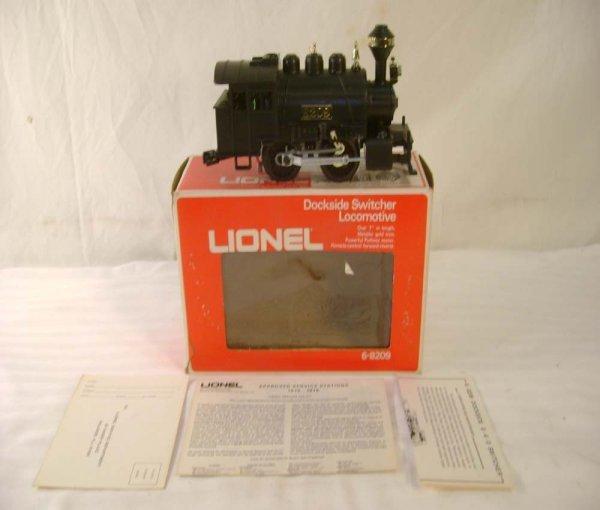 228: ABT: Lionel #8209 Dockside Switcher/Brick OB+ - 2