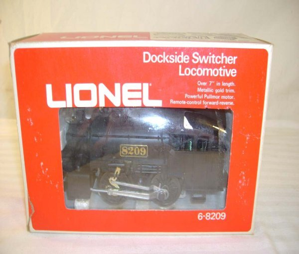 228: ABT: Lionel #8209 Dockside Switcher/Brick OB+ - 9