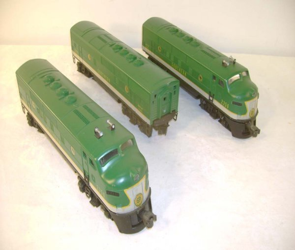 441: ABT: Nice Lionel #2356 Southern F-3 ABA Diesels