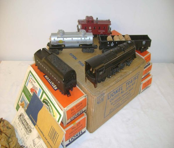 450: ABT: Lionel #2179WS 671RR Freight Set/OBs+