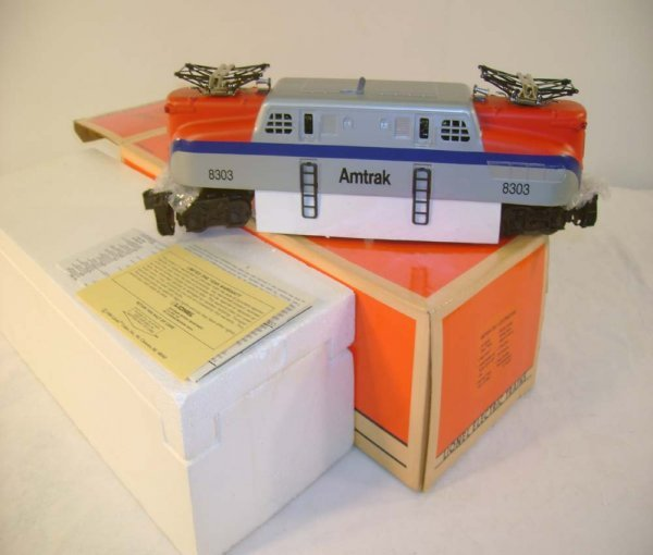 637: ABT: Mint Lionel #18303 Amtrak GG-1 Electric/OB