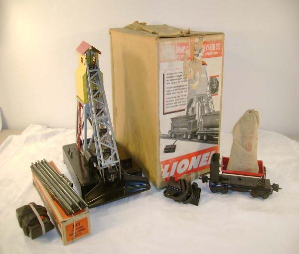 5: ABT: Lionel #188 Coal Loader Set/Dealer Display OB+