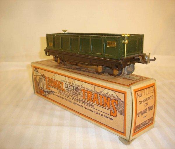 11: ABT: Lionel #812 Dark Green Gondola/Early Box