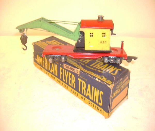17: ABT: AF #481 Red Base Operating Crane Car/OB