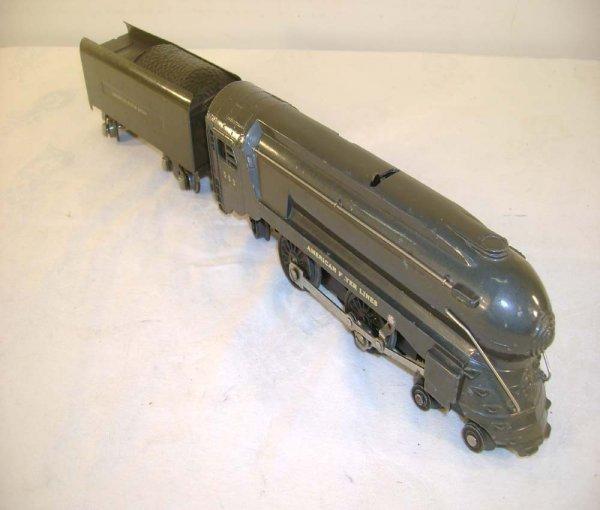 18: ABT: AF #551/552 Bullet Nose Gray Steam & Tender