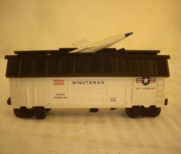 260: ABT: Lionel #3665 w Rocket Prototype