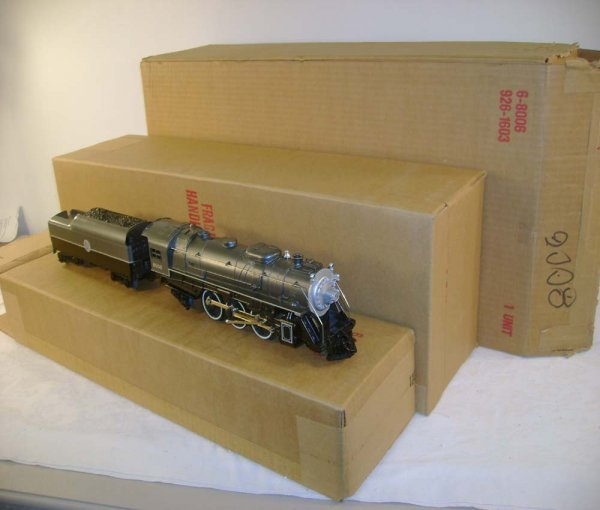 300: ABT: Mint Lionel #8006 AC Silver Shadow/Case