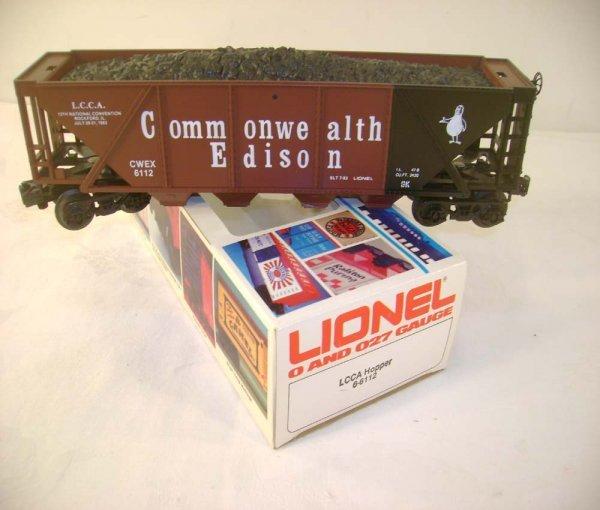 302: ABT: Mint Lionel #6112 LCCA Comm. Edison/OB