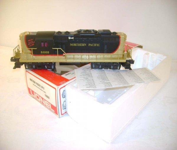 308: ABT: Mint Lionel #8668 NP GP-9 Dummy Diesel/OBs