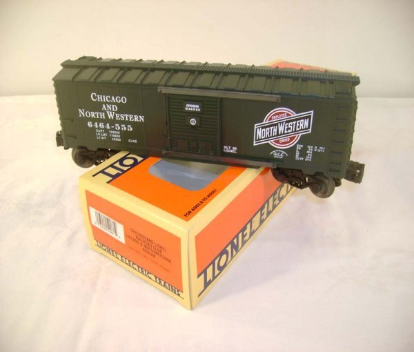 316: ABT: Lionel #52081 Chicagoland C&NW Box Car/OB