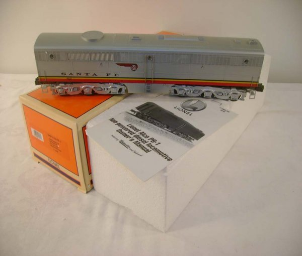 317: ABT: Lionel #18965 SF Alco B with Railsounds/OB